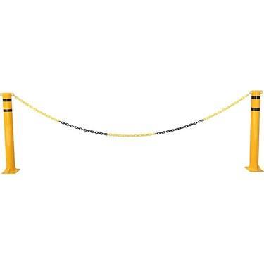 Force Chain 6 Mm 5 Mtr. Sarı Siyah Plastik Zincir
