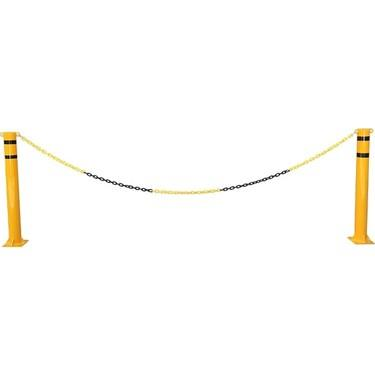 Force Chain 6 Mm 10 Mtr. Sarı Siyah Plastik Zincir