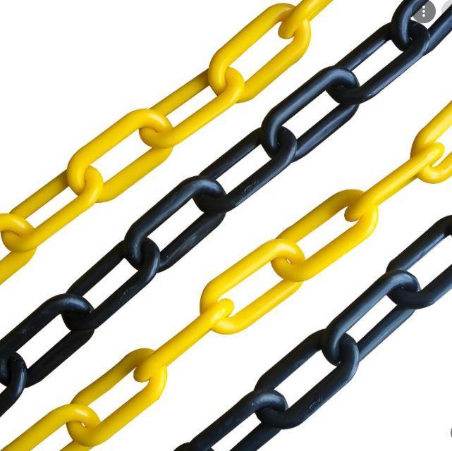 Force Chain 8 Mm 5 Mtr. Sarı Siyah Plastik Zincir