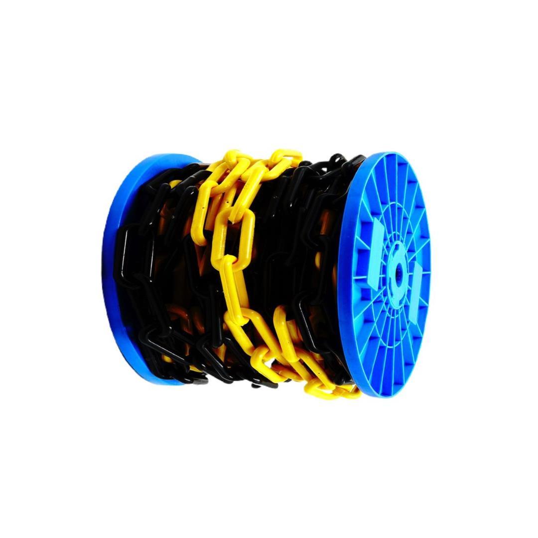 Force Chain 10 Mm 10 Mtr. Makaralı Sarı Siyah Plastik Zincir