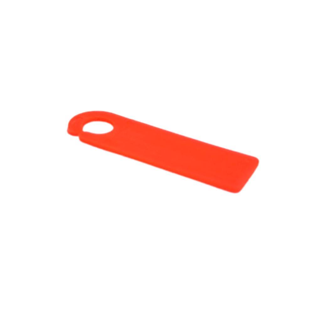 Plastik Etiketlik Markalama 103x32mm 20'li Fosforlu Pembe