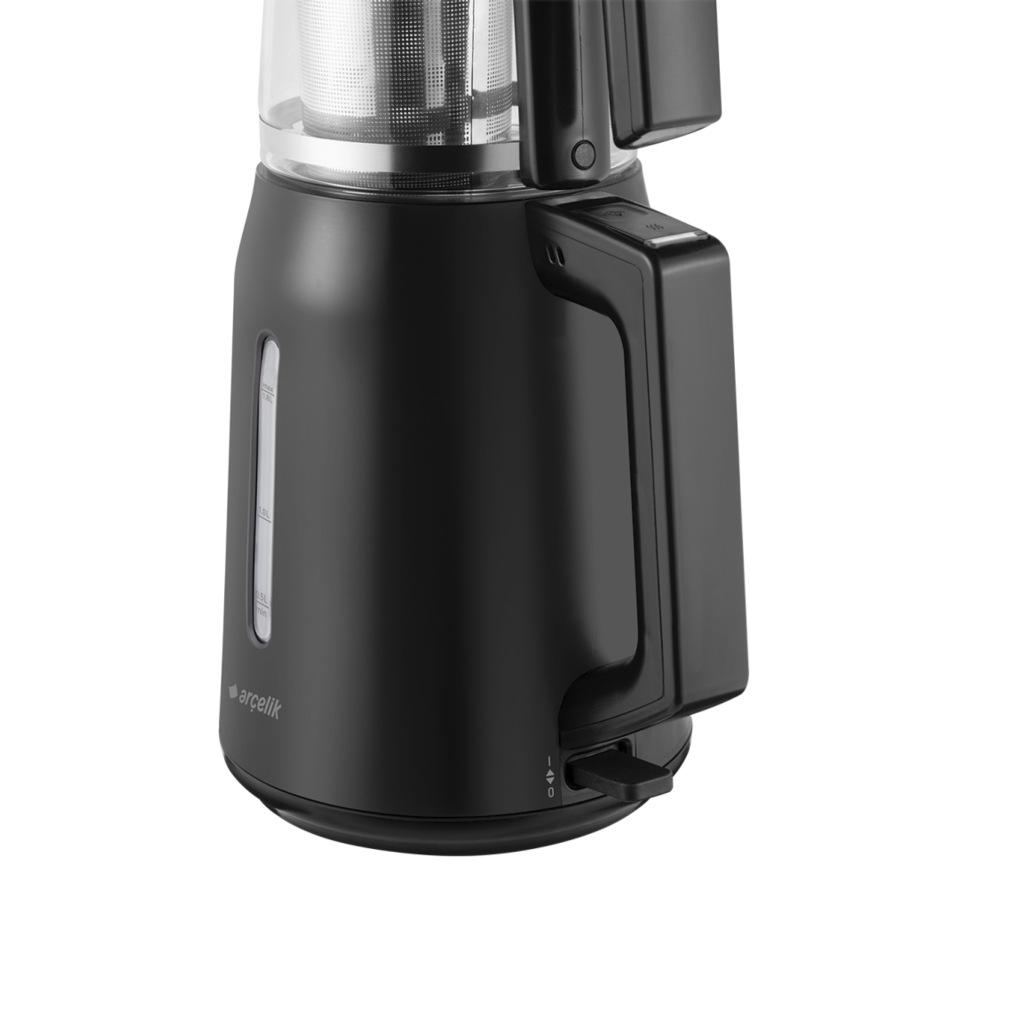 Arçelik K 3281 C 1650 W Cam Demlikli Çay Makinesi
