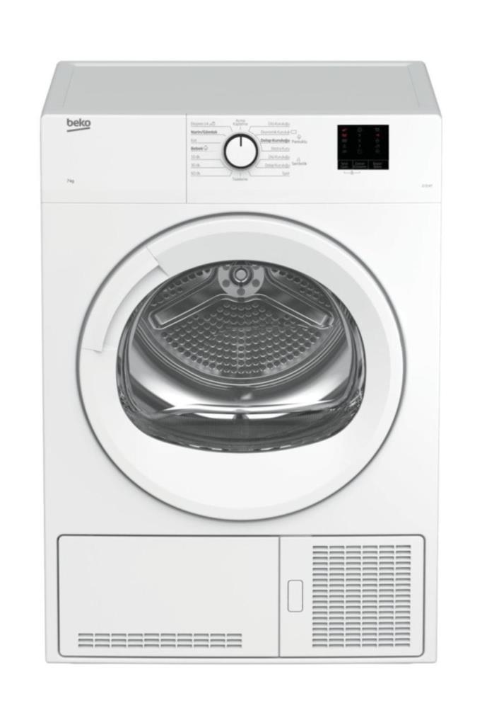 BEKO D 72 KT B Enerji 7 kg Çamaşır Kurutma Makinesi