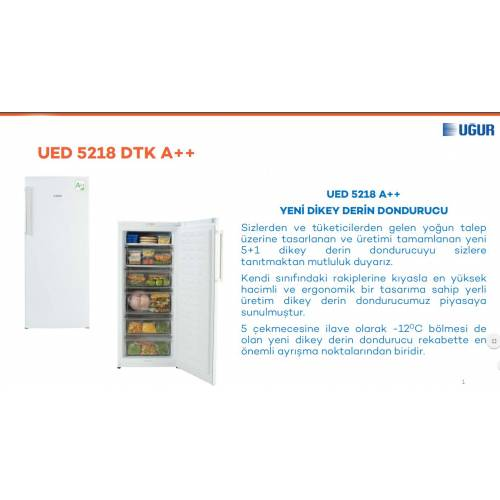 Uğur UED 5218 DTK Derin Dondurucu