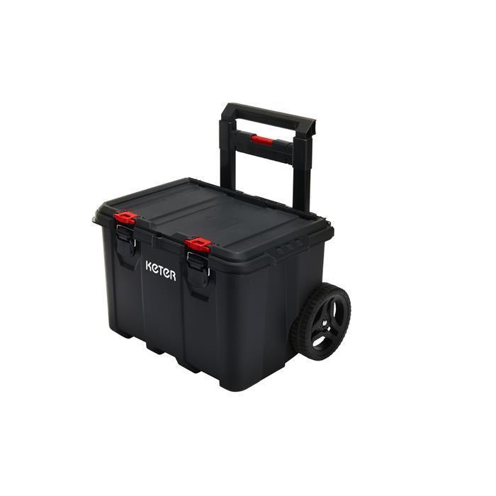 Keter 17210365 Pack N Stack Hart Modular System 3 Katlı Tekerlekli Takım Çantası ne işe yarar