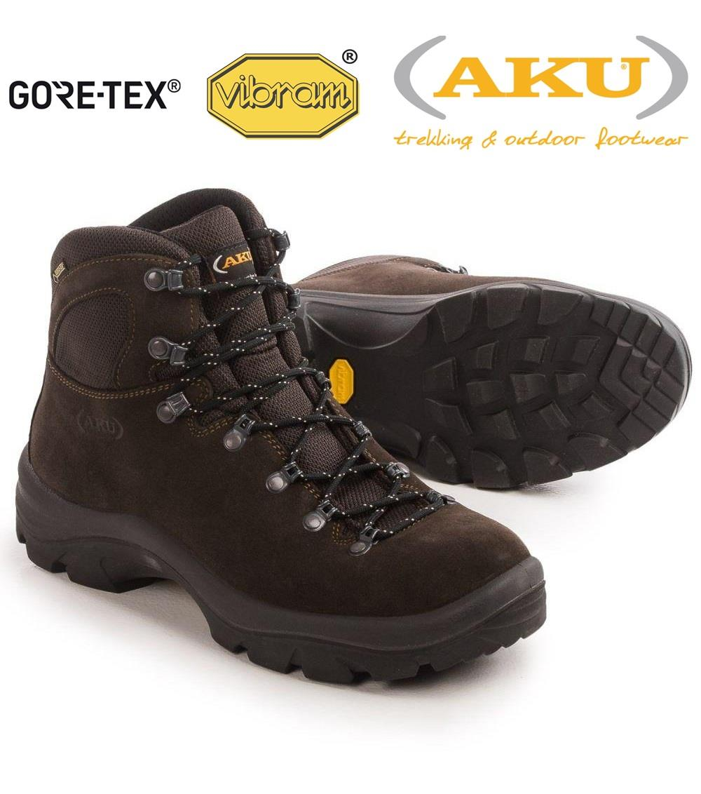 Aku Tribute Süet Goretex  İtalyan Trekking Bot A135050