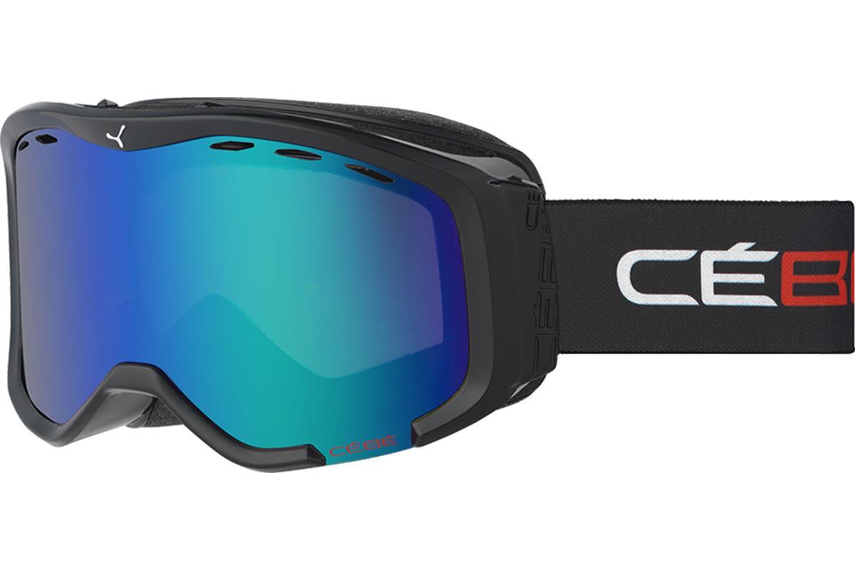 Cebe CHEEKY  Gözlük üstü Black & Red  Brown Flash Blue Cat.3 Kayak Gözlüğü