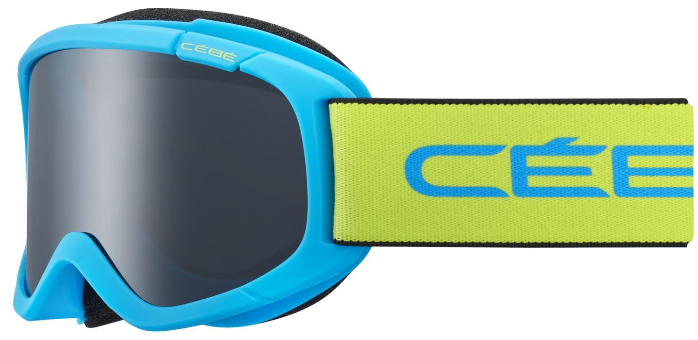 Cebe JERRY Bebek  2 Mat Blue Lime Grey Ultra Black Cat.3 Kayak Gözlüğü