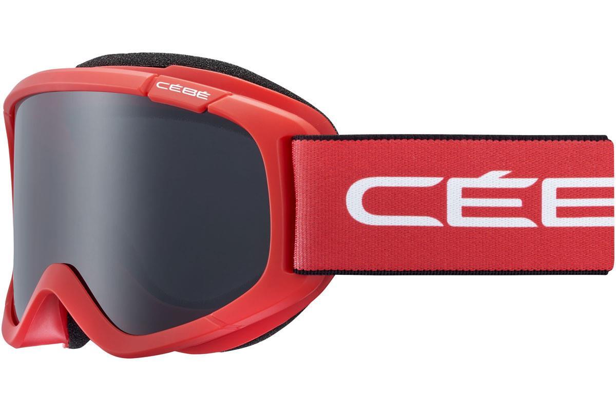 Cebe JERRY 2  Bebek Mat Red White  Grey Ultra Black Cat.3 Kayak Gözlüğü