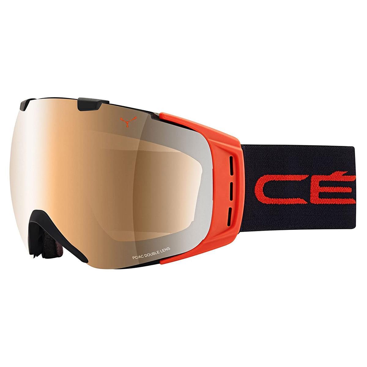Cebe Origins Kayak Snowboard Gözlük L Siyah Kırmızı Nxt Vari Cbg8