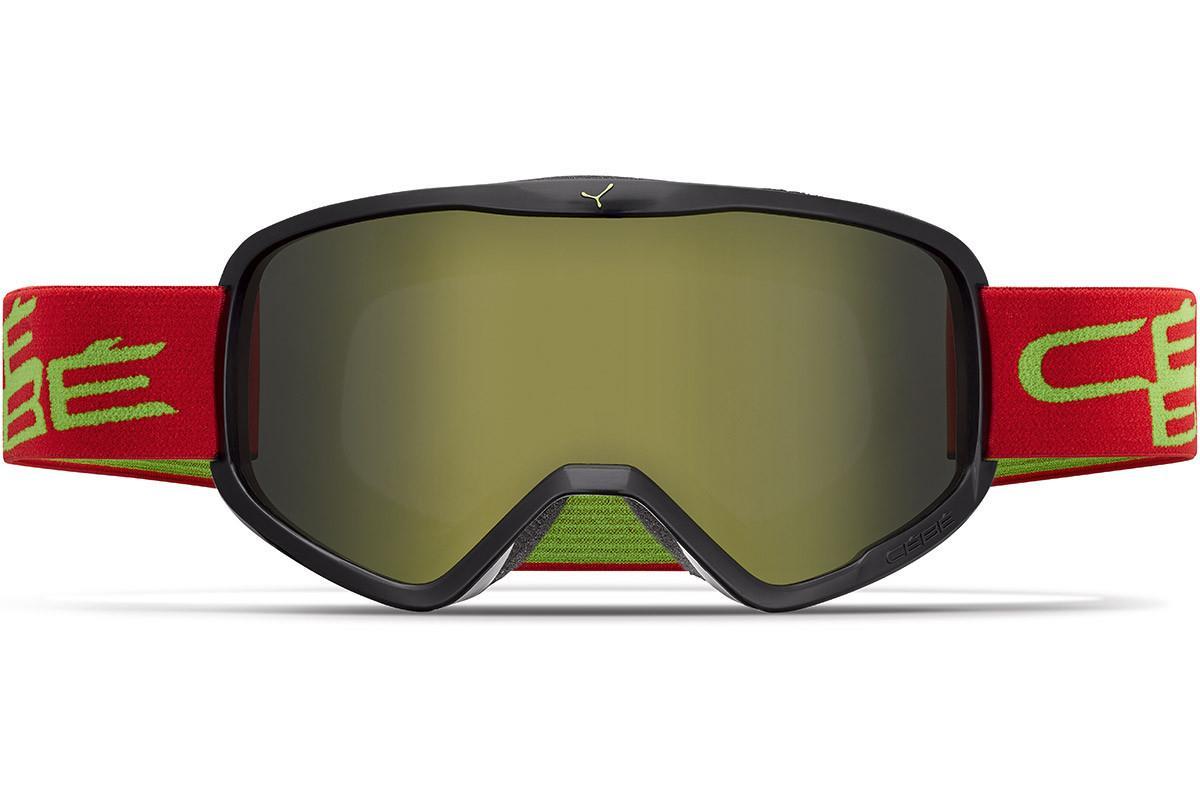 Cebe RAZOR L  Mat Black Red Lime Dark Grey Flash Gold Cat.3 Kayak Gözlüğü