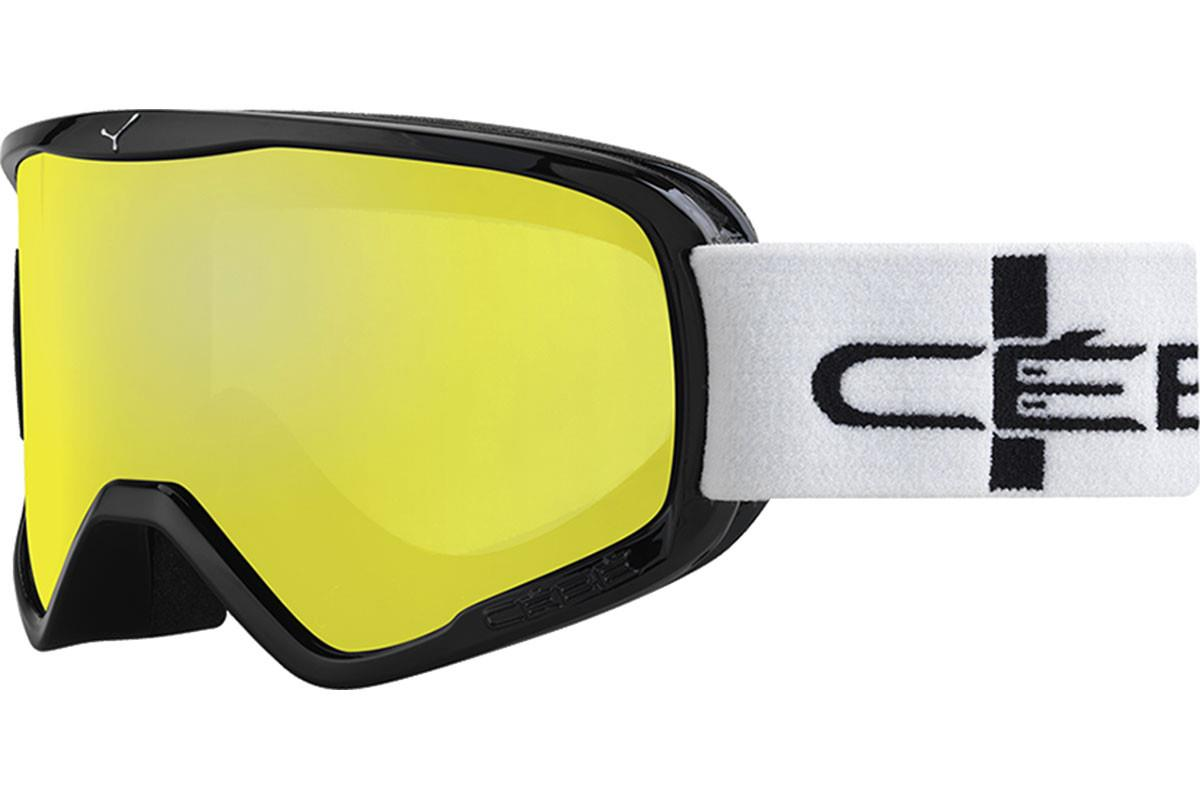 Cebe STRIKER L  Black Stripes Yellow Flash Mirror Cat.1 Kayak Gözlüğü