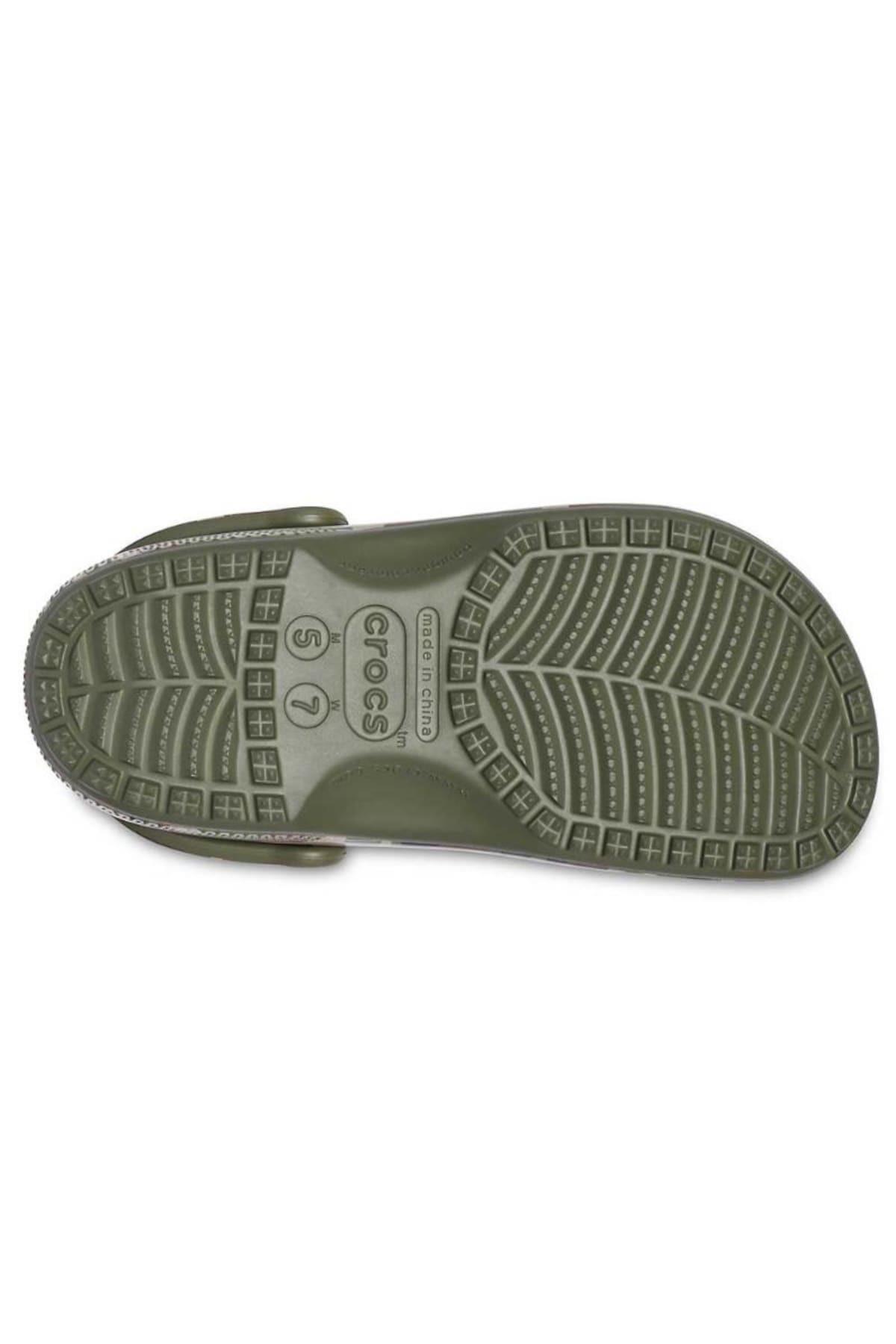 Crocs Classic Printed Camo Clog Terlik CR1104-3TC