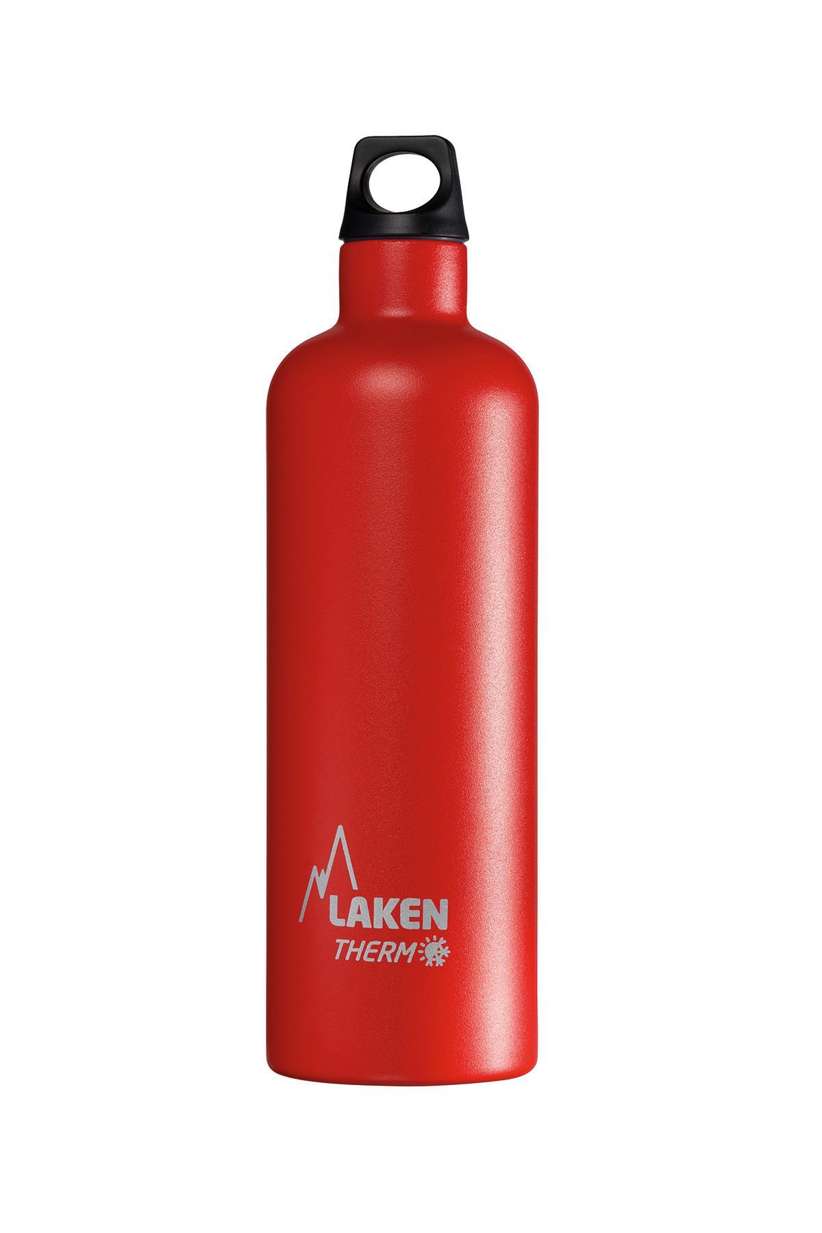 Laken Çelik Futura Termos Şişe 0,75L Kırmızı Lkte7R