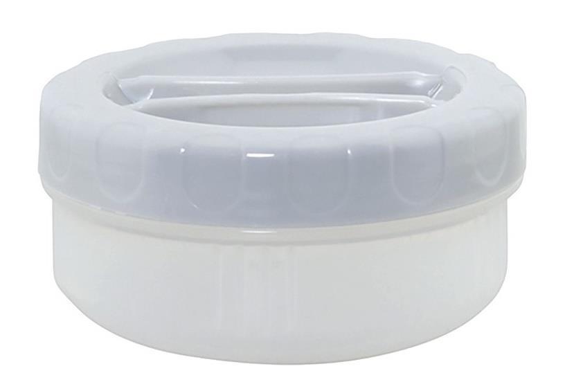 Laken  yedek iç kap LKP10/LKP15/LKLP10 için  250ml Küçük PP Gri