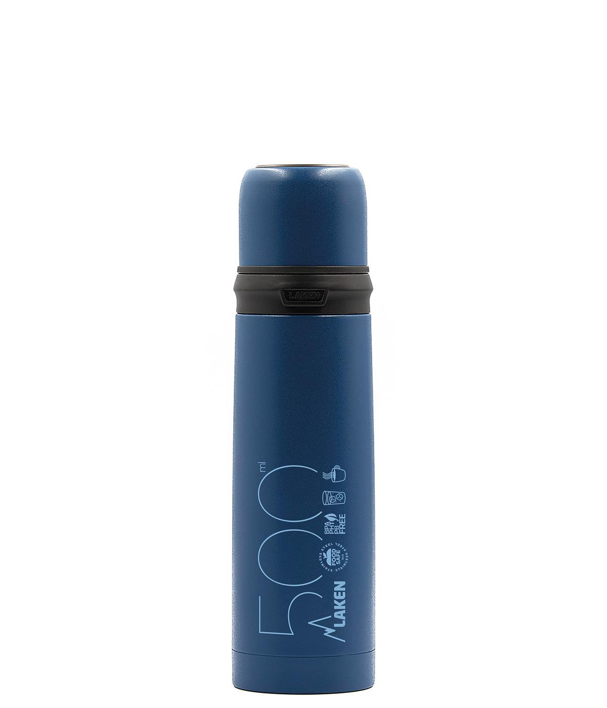Laken  ST.STEEL THERMO BOTTLE 0,5 L BLUE