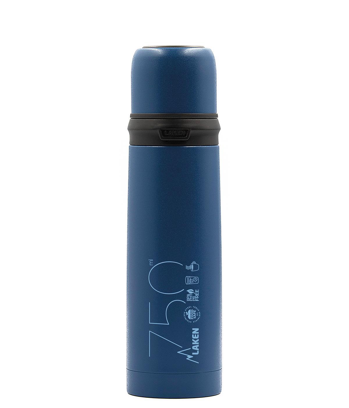 Laken  ST.STEEL THERMO BOTTLE 0,75 L BLUE
