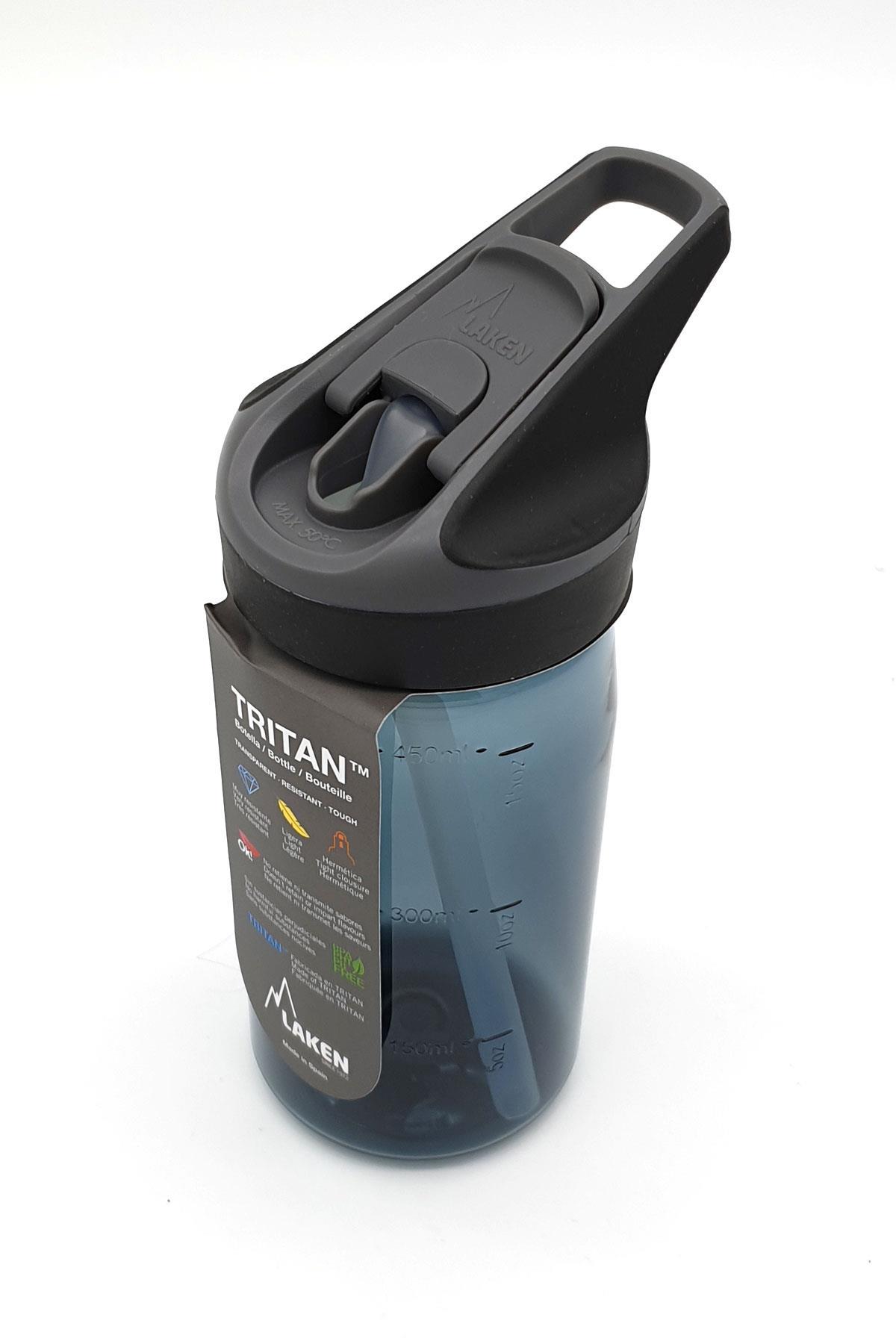 Laken Tritan Jannu Şişe 0,45L - Granit