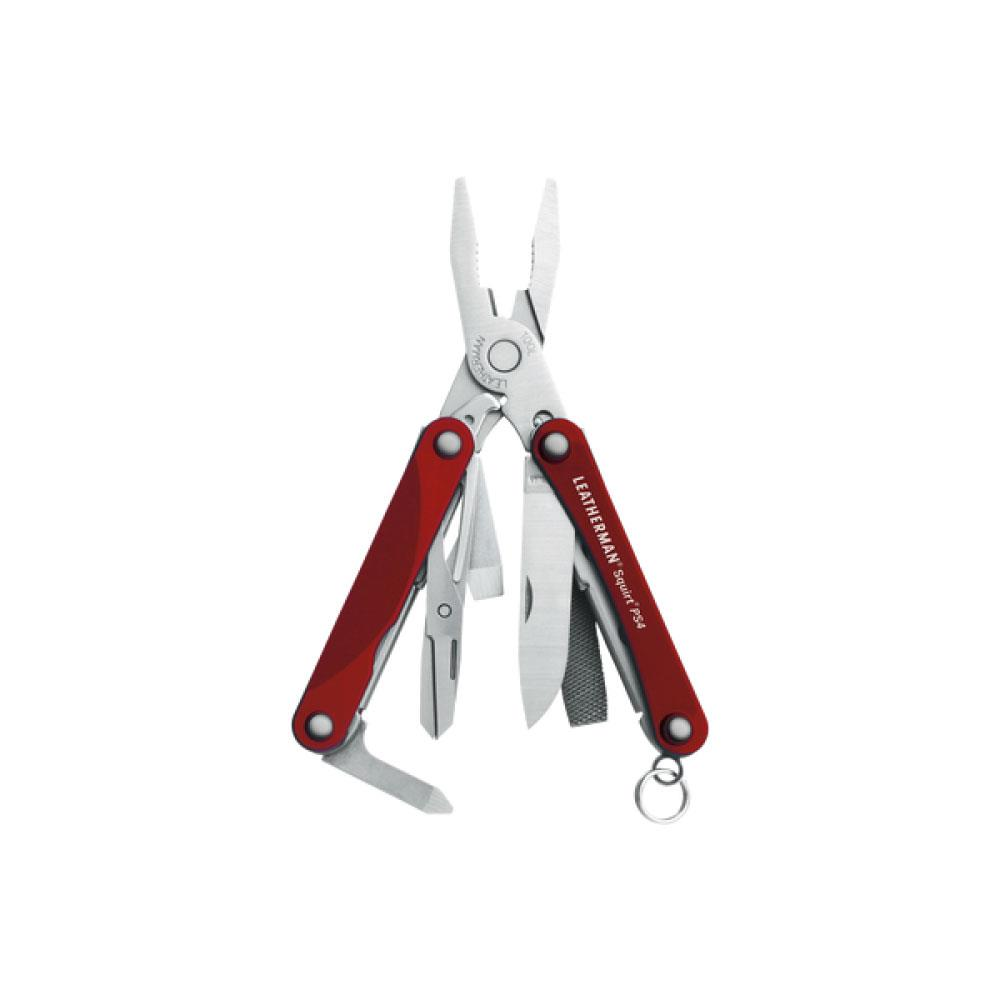 Leatherman Squirt Ps4 Kırmızı Çok Amaçlı Pense Lea831227