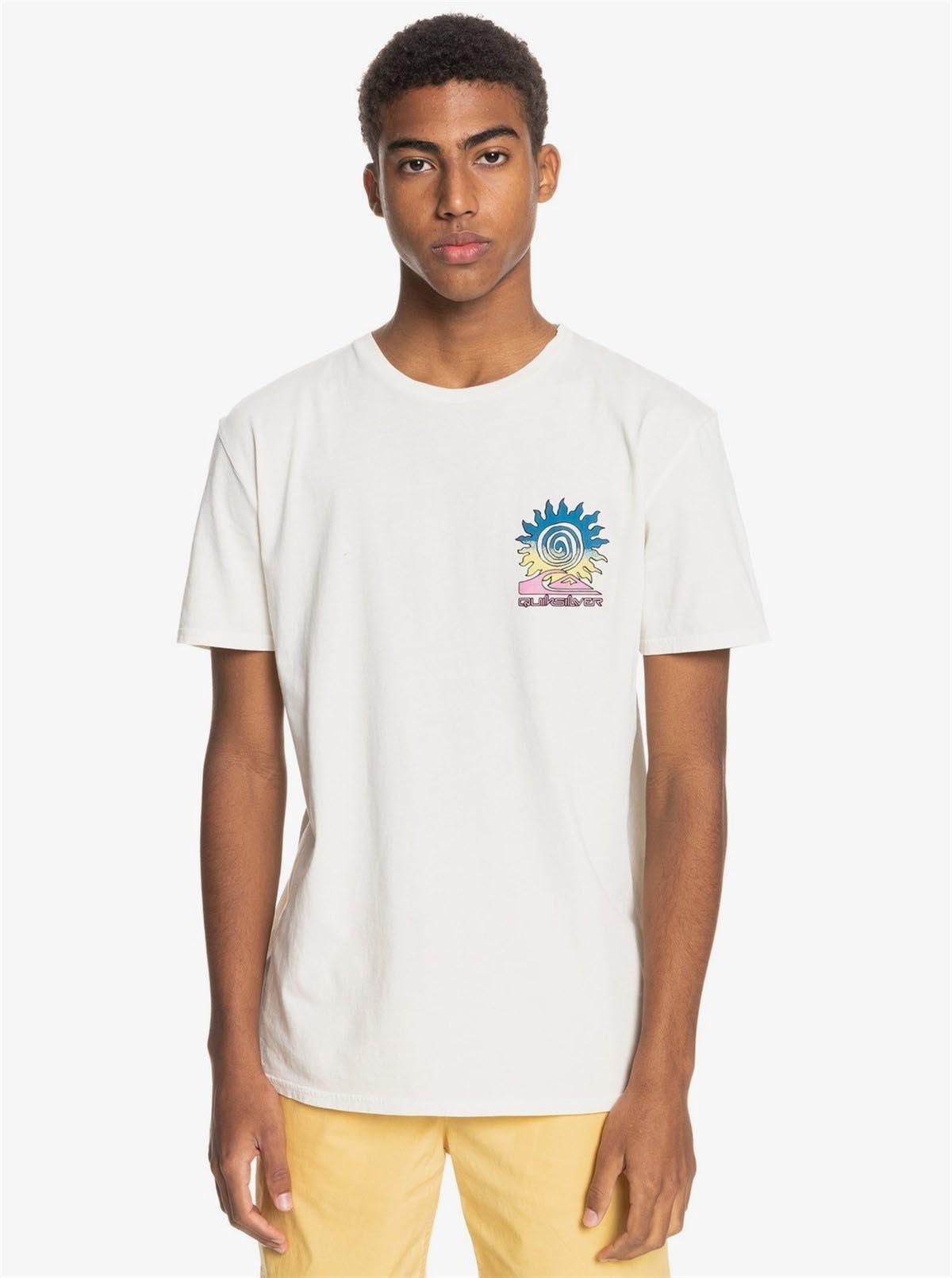 Quiksilver Island PULSE SS T-Shirt EQYZT06350-WBK0