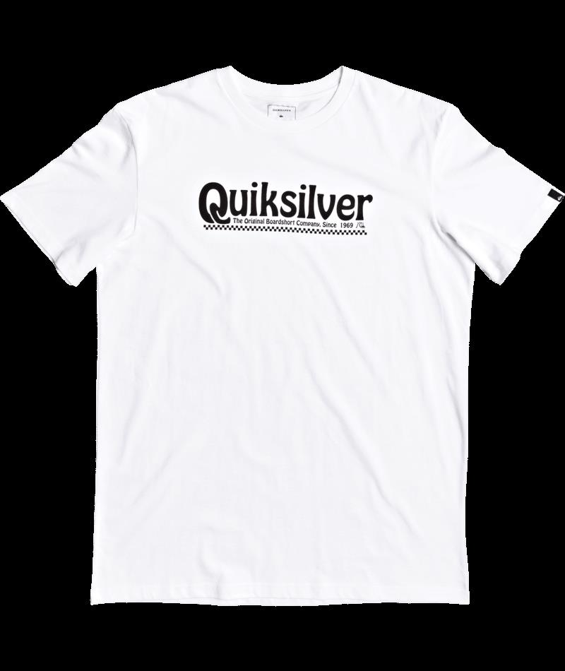 Quiksilver Newslangss M Tees WBB0 Erkek Tişört EQYZT05754-WBB0