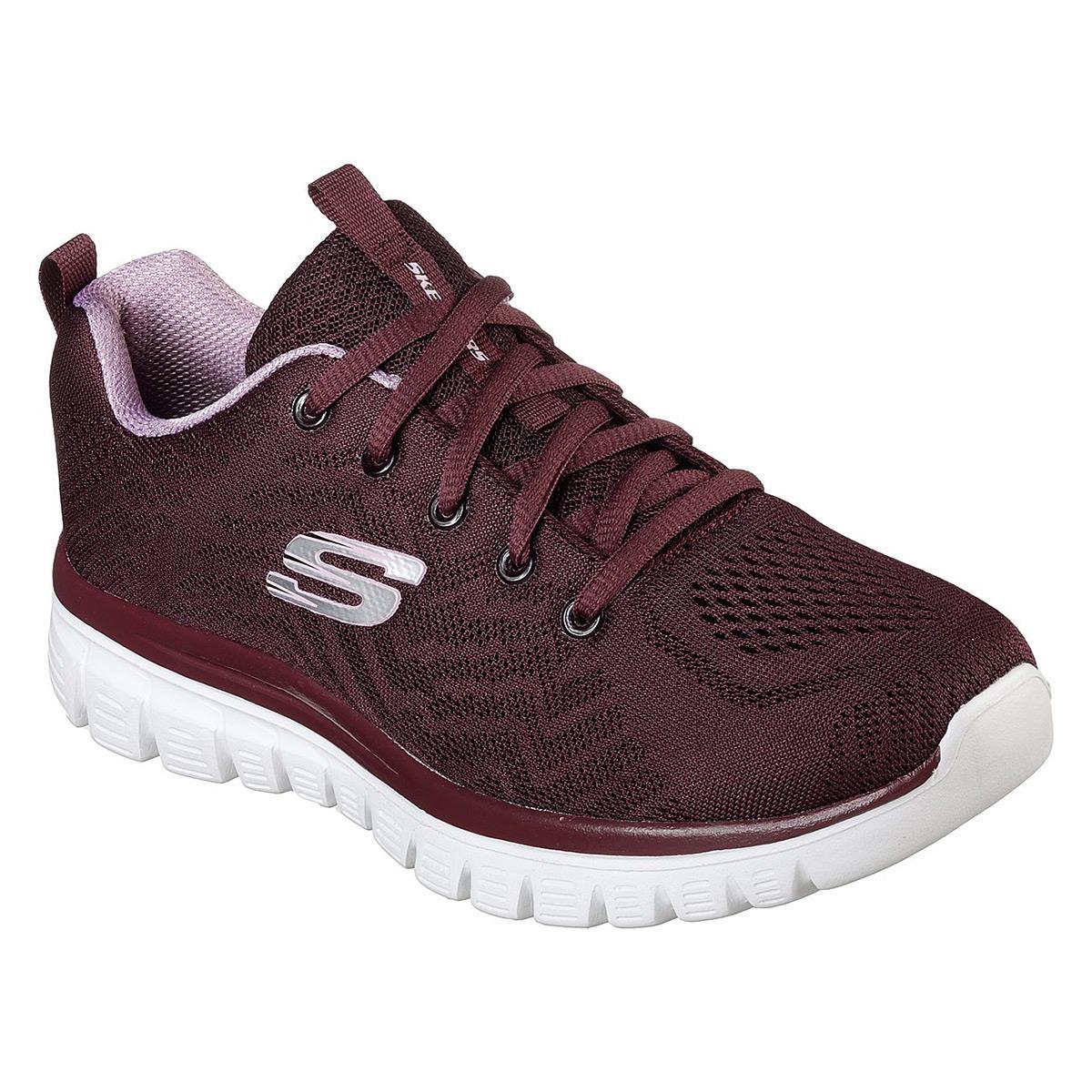 Skechers GRACEFUL-GET CONNECTED Kadın Ayakkabısı SKC12615 WINE