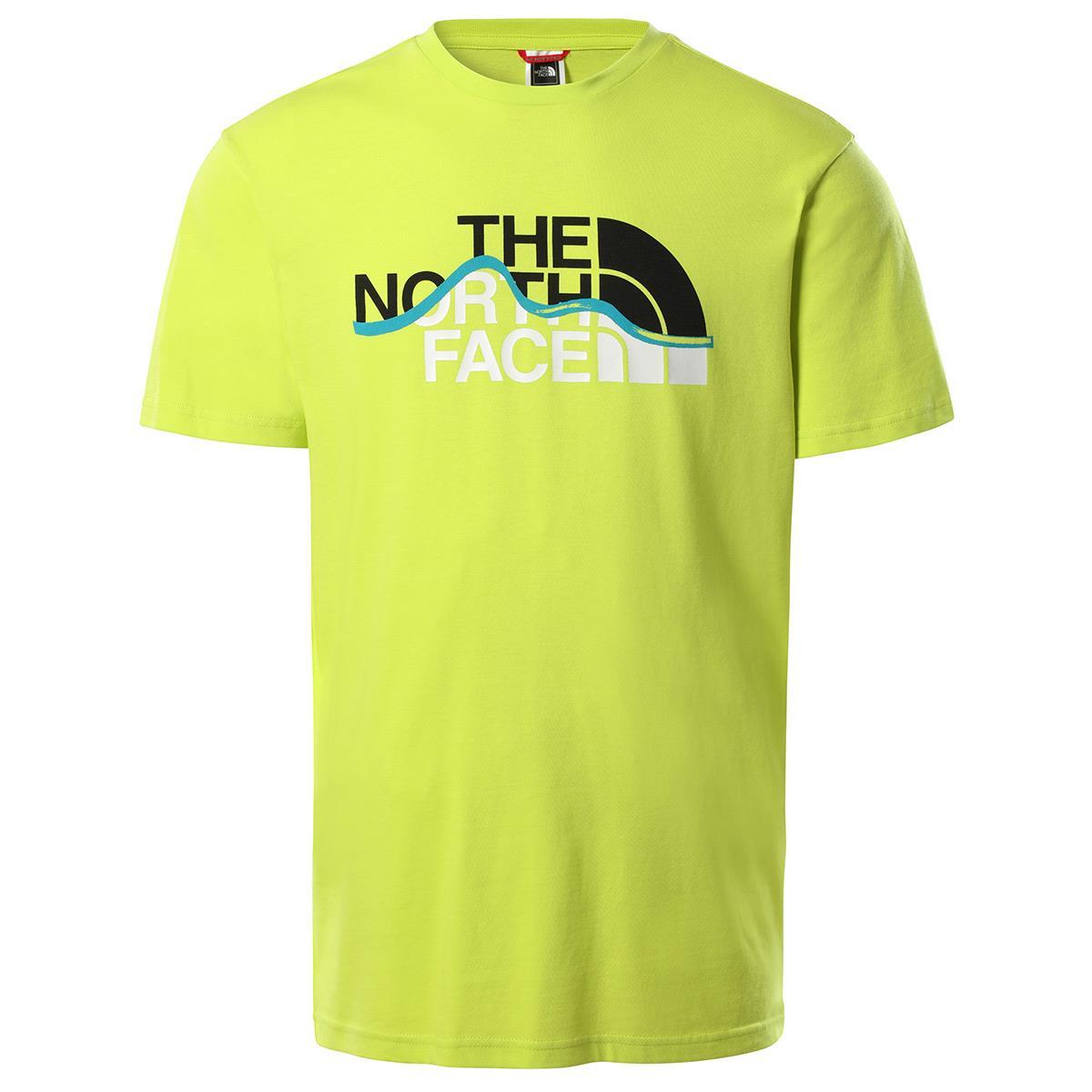 The North Face  Erkek S/S MOUNTAIN LINE Tişört