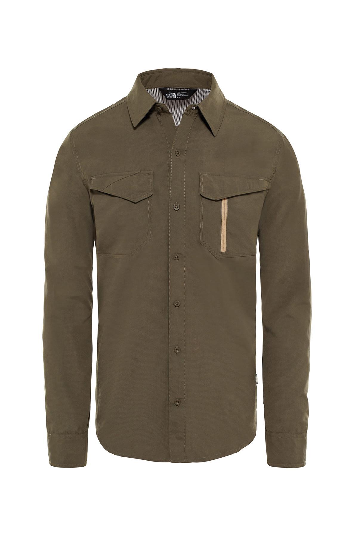 The Northface Erkek L/S Sequoia Shirt-Eu T92Xjw21L Gömlek
