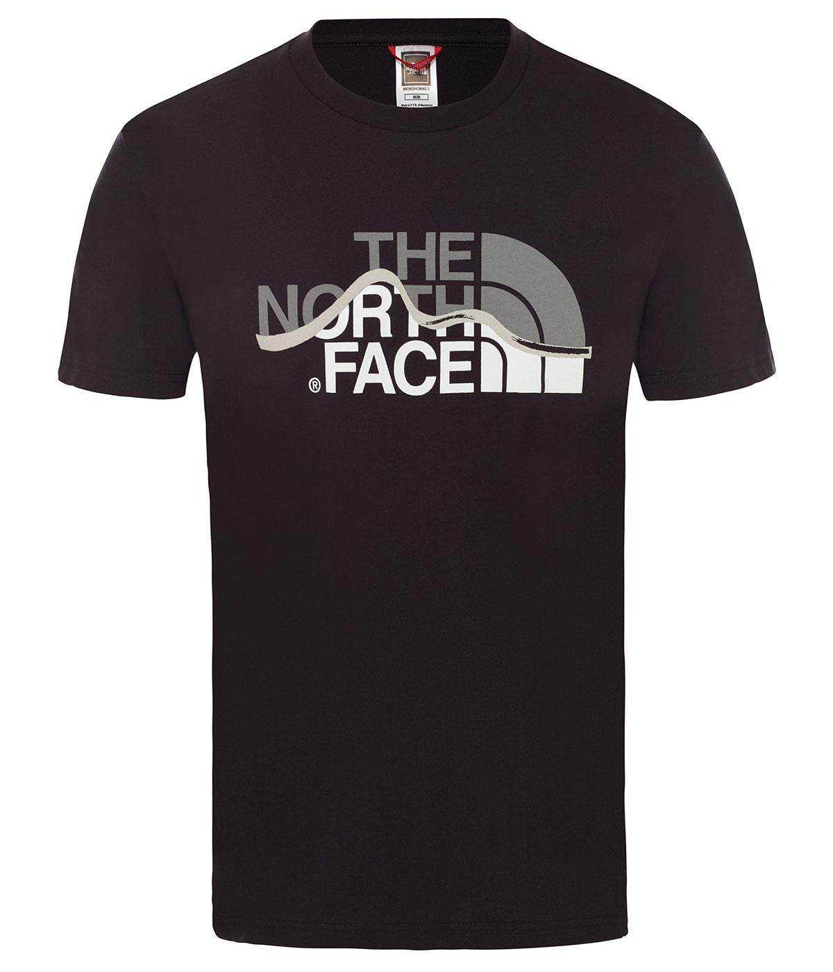 The Northface Erkek S/S Mountain Line Tee - Eu T0A3G2Jk3 Tişört