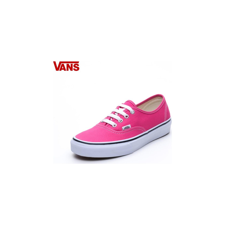 Vans Authentic Koyu Pembe Beyaz Unisex Ayakkabı Vvoeln8