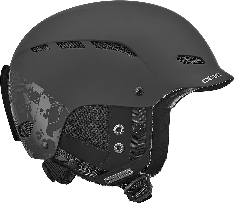 Cebe Dusk Full Matt Black Geometric Camo  59-61  L Kask