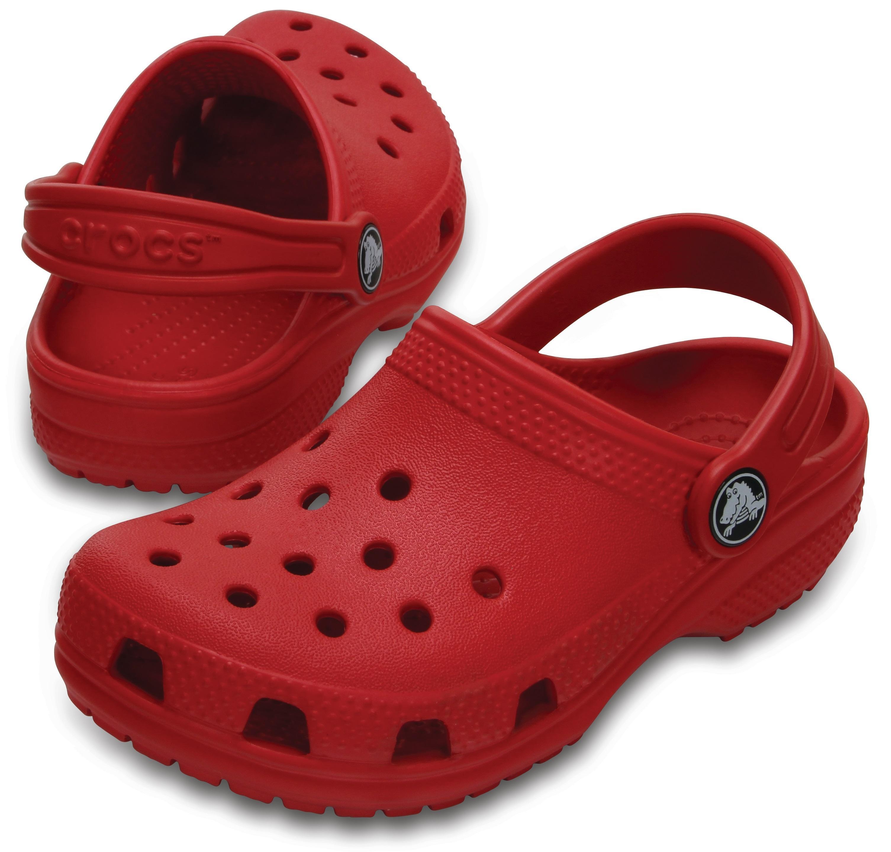 Crocs Classic Clog  Kırmızı Çocuk Terlik  Cr0383-6En