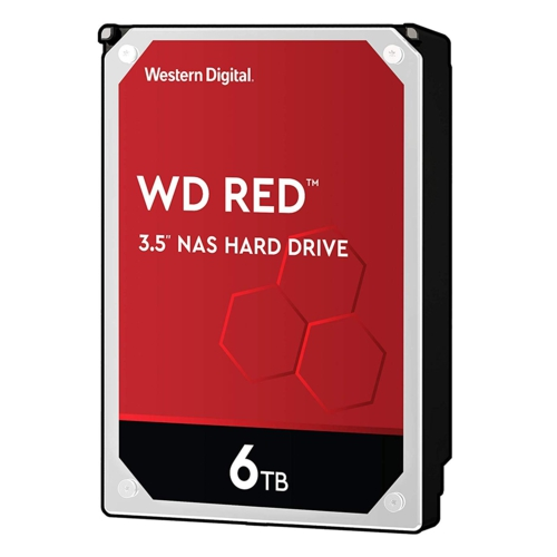 WD RED 3,5 6TB 256MB 5400RPM WD60EFAX